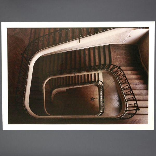Paris staircase william curtis rolf home pinterest for Escaleras infinitas