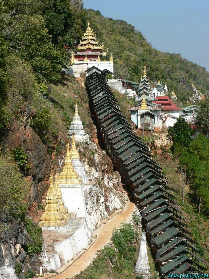 Central Myanmar: Taunggyi - Pindaya caves