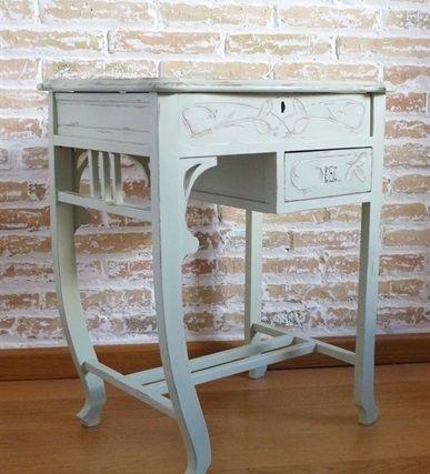 Resturación de una mesita tocador Art Nouveau - Blog - L'atelier du Papillon