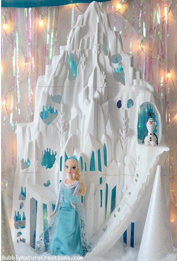 Frozen Elsa S Castle Frozen Party Decorations Disney