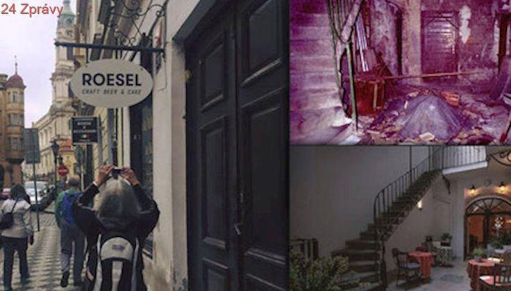 Gotický dům u Karlova mostu zničil komunismus: Vnuk 90letého majitele mu vrátil život a otevřel v něm bar