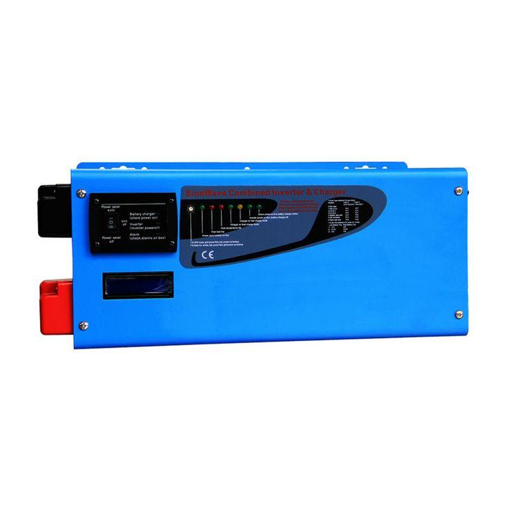 24V 220vac/230vac 5kw LCD power star inverter pure sine wave 5000w toroidal transformer off grid solar inverter built in charger #Affiliate