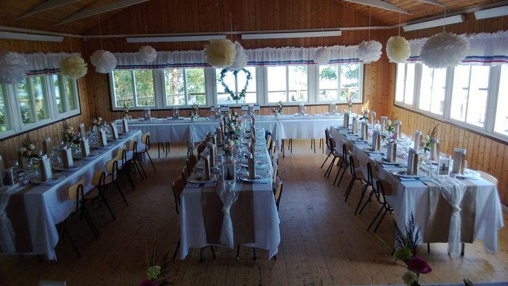 Bröllopsinspiration Hela dukningen färdig!