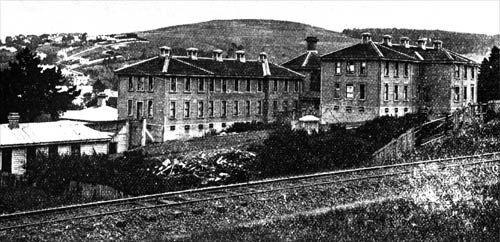 Immigration barracks: Dunedin