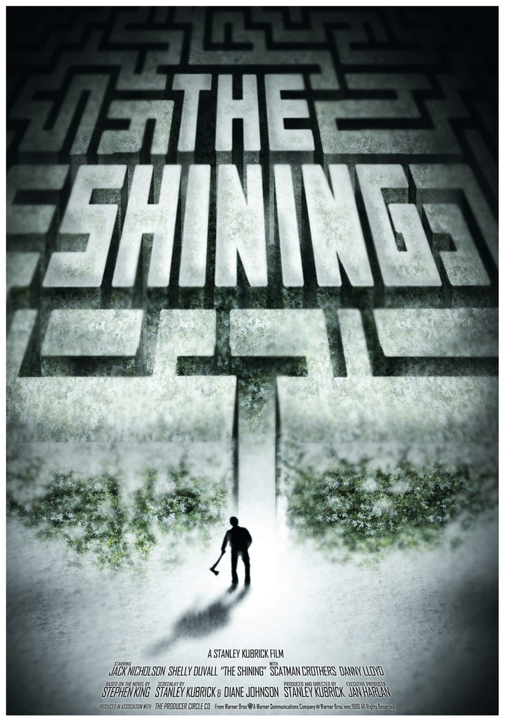 Poster: The shinning (CREADO DIGITALMENTE)