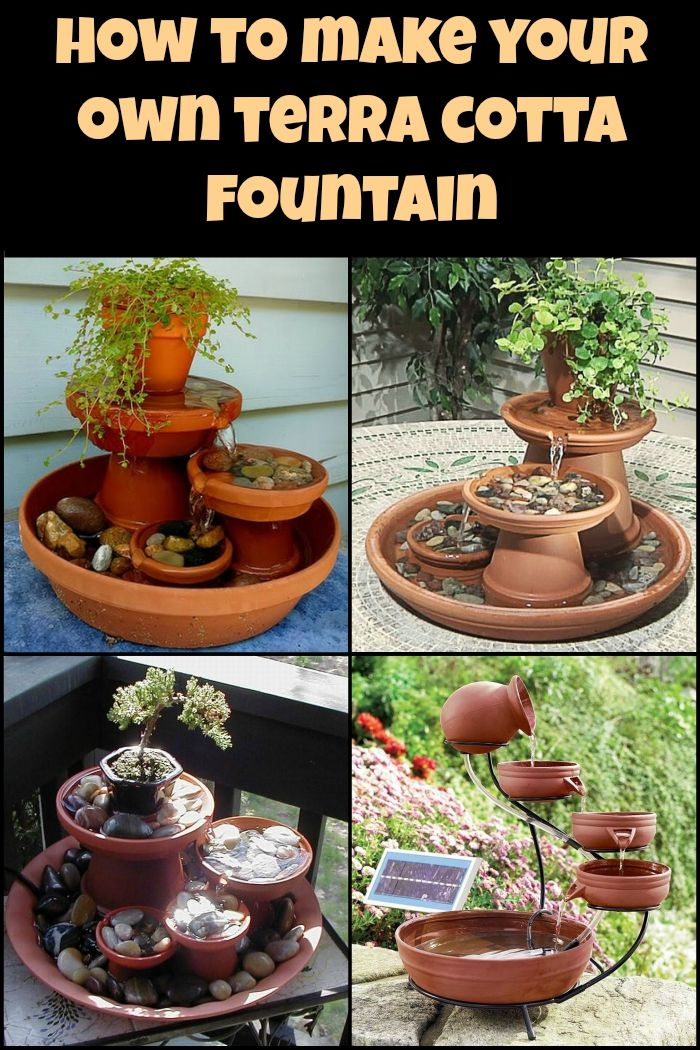 Water Feature Project: How to Build a Terra Cotta Fountain