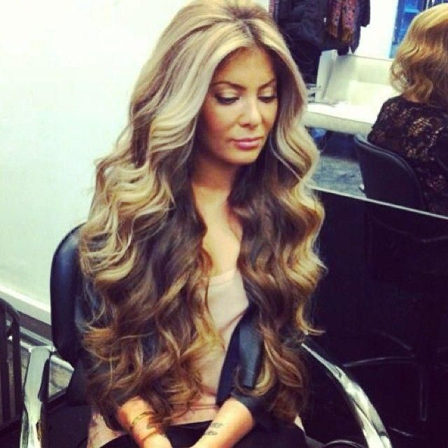 Long Wavy Hairstyles Enchanting 242 Best Hair♥ Images On Pinterest  Hair Ideas Hair Colors And