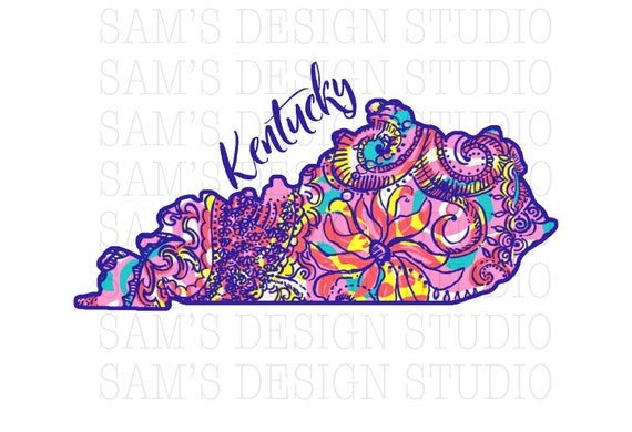 Purple Kentucky Sublimation Designs Downloads Ky Png Etsy Sublime State Outline Kentucky