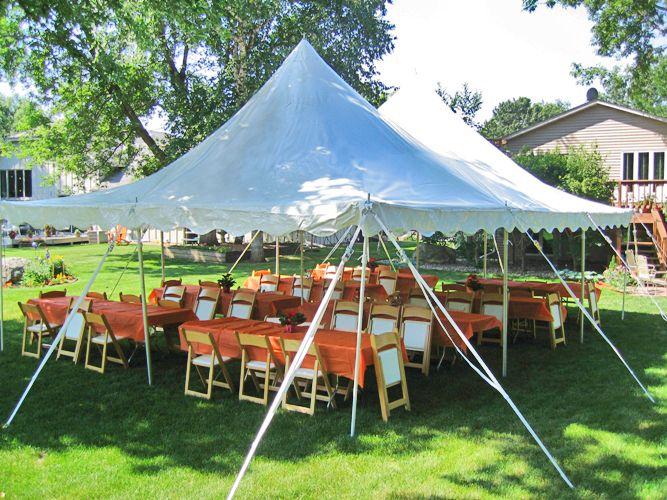 Who Doesnu0027t Love A Backyard Party?! Hereu0027s A 20x30 Century Pole Tent We Set  Up. | Tents | Pinterest | Bakgårdar, Kärlek Och Partyn