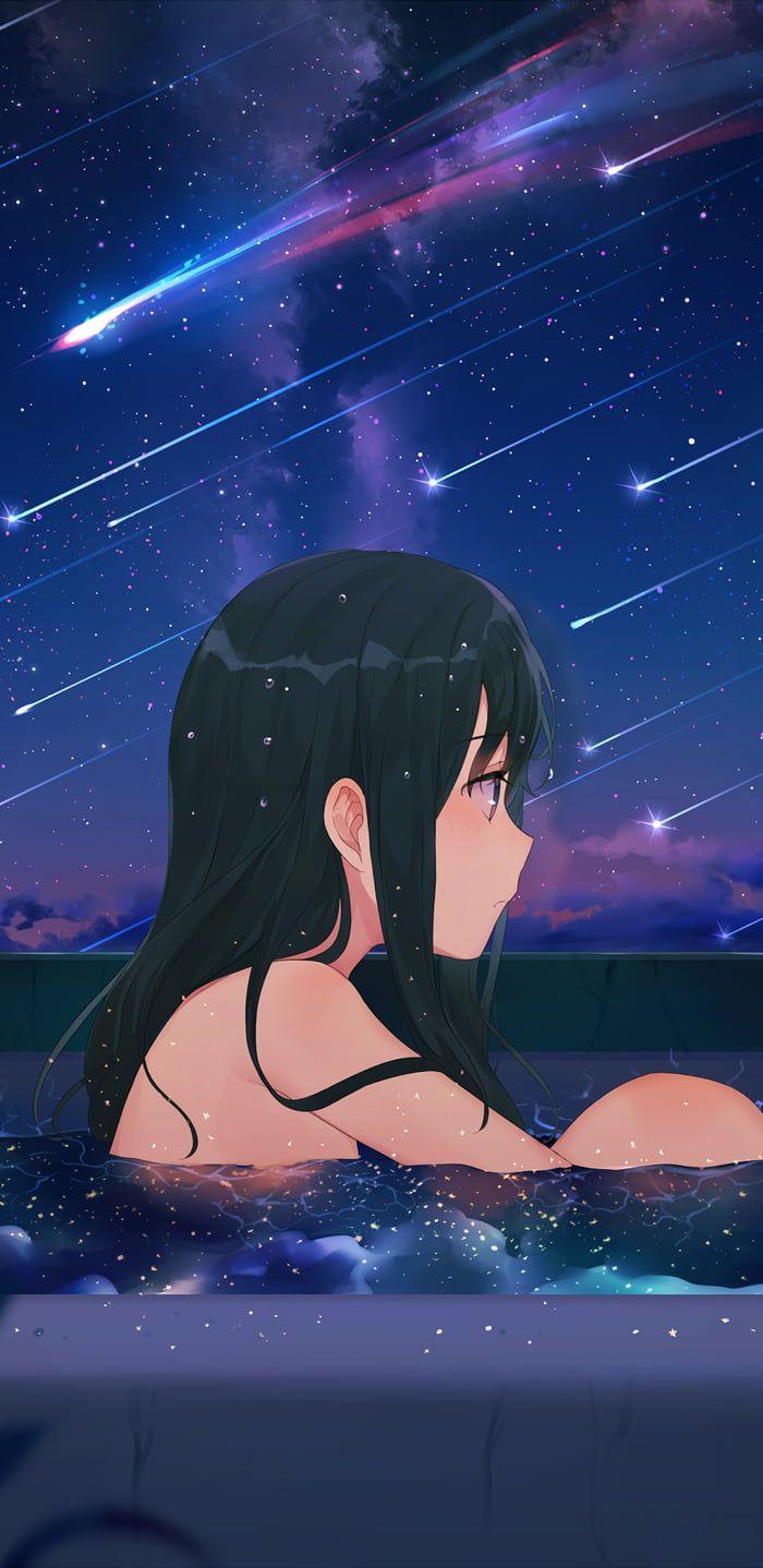 Star Bath 9 18 5 Mobile Anime Scenery Wallpaper Anime Wallpaper Anime Scenery 18 anime wallpaper gif