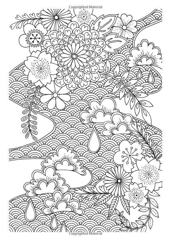 Creative Colouring Patterns : Ideas about japanese patterns on