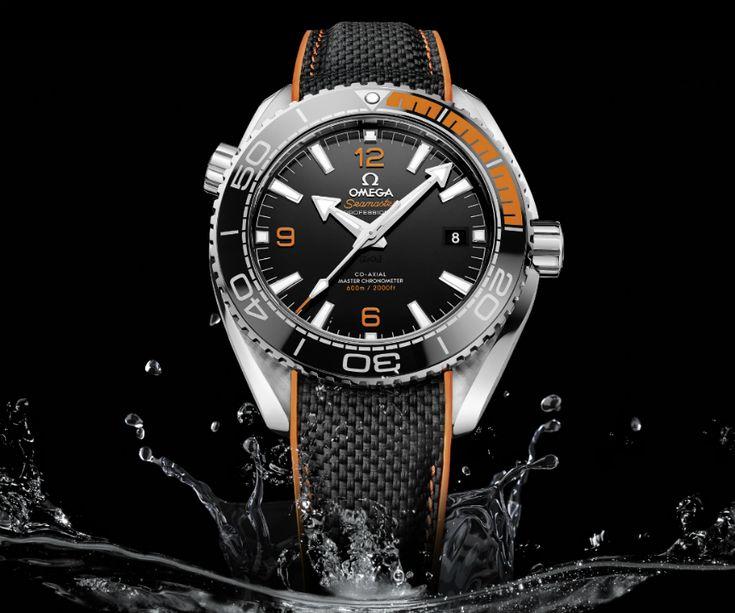 Omega Seamaster Planet Ocean Master Chronometer Watch