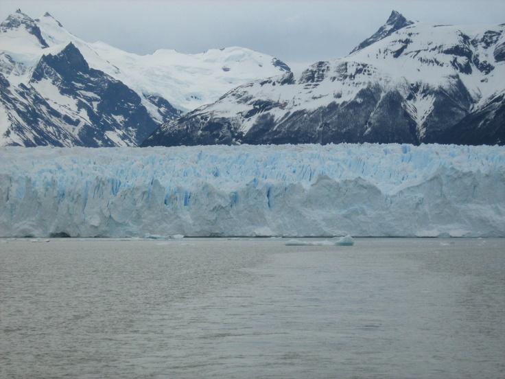Perito Murino #glacier in #Argentina.