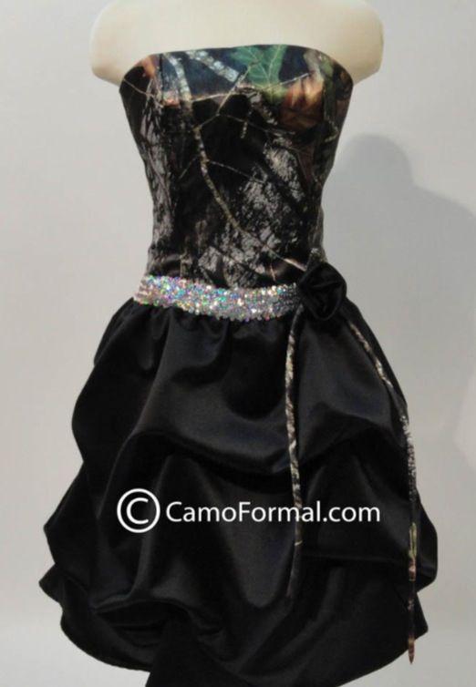 Favorite homecoming dress choice!!! Camo!!!!