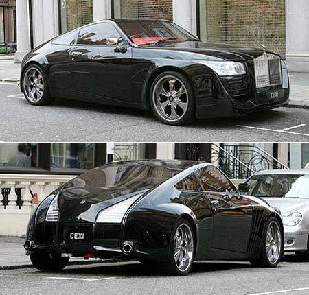 Rolls Royce Silver Spirit MKIV (DC Designs) Kinda cool looking, kinda creepy looking.