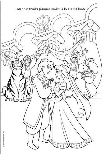 coloring pages jasmine christmas - photo#31