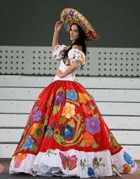 trajes regionales mexicanos -