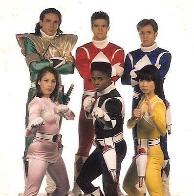 David Yost @David_Yost  Feb 20 #throwbackthursday - Original Six! Circa 1994 - TV Guide photo shoot pic.twitter.com/vIRitDZK3B  Mighty Morphin Power Rangers