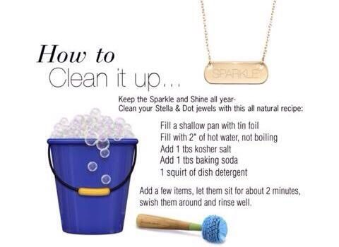 How to clean your stella & dot jewelry