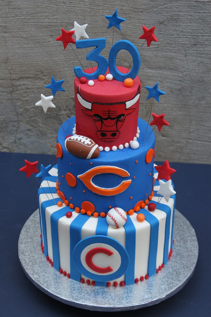 Custom Made Birthday Cakes Chicago Il