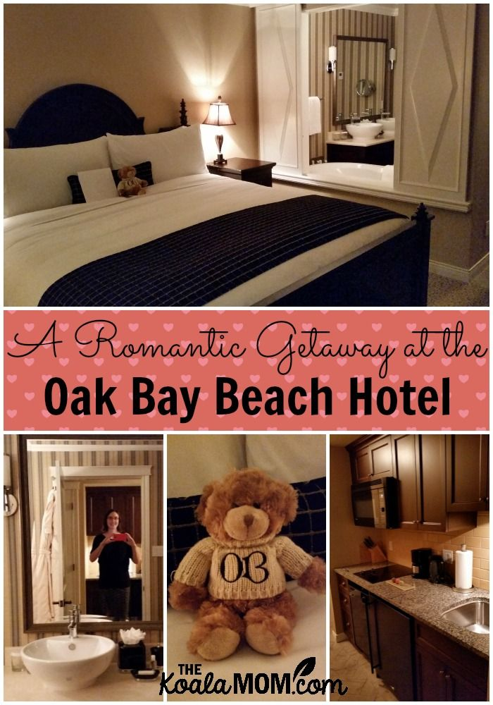 Hubby and I have a romantic getaway at the Oak Bay Beach Hotel, which offers five star service, unparalleled ocean views, luxury accommodation, and history.
