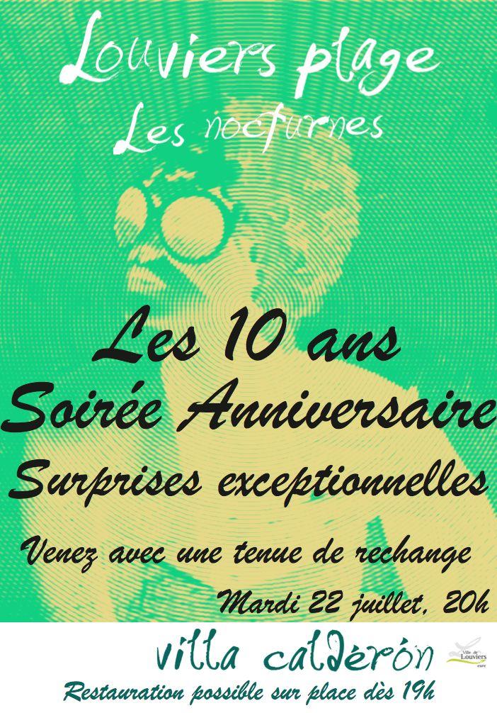Venez avec nous fêter les 10 ans de Louviers Plage !