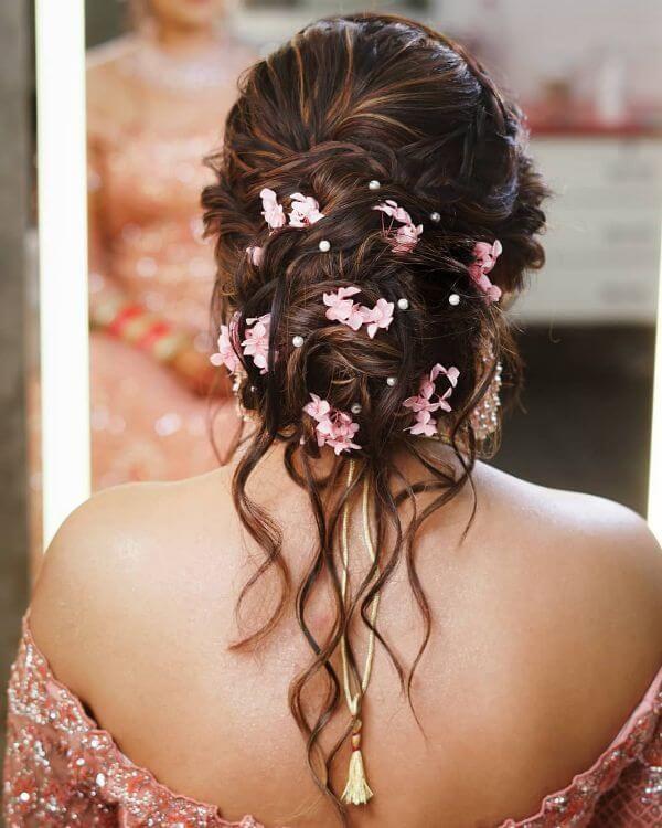 Stunning Bridal Bun Hairstyles For Reception K4 Fashion Bridal Hair Buns Short Wedding Hair Wedding Hair Inspiration