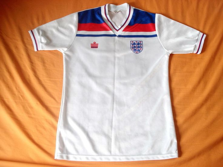 "ENGLAND 1980-1983 admiral Retro Vintage Football Shirt Jersey Maillot Trikot 38"""