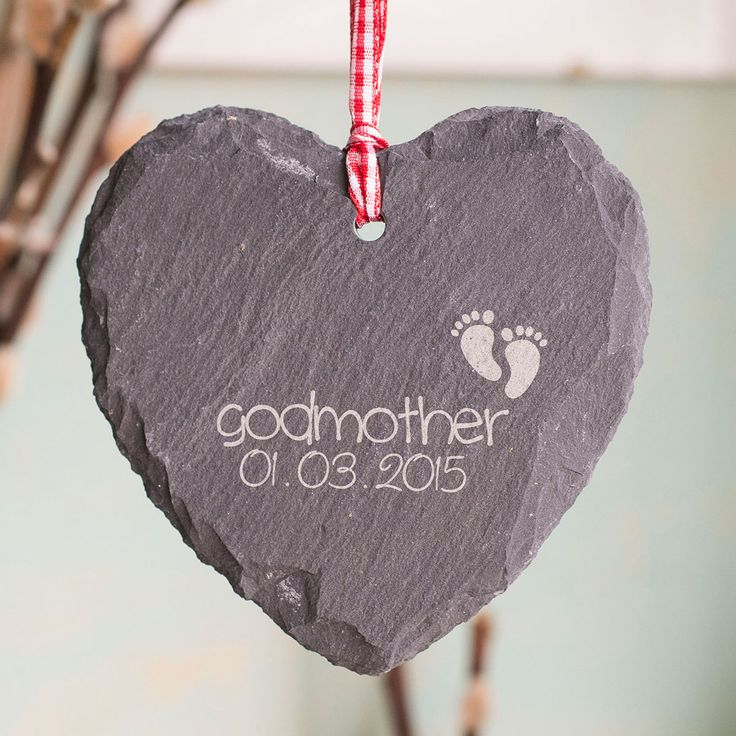 Baptism Heart Ornament: 25+ Unique Godmother Gifts Ideas On Pinterest
