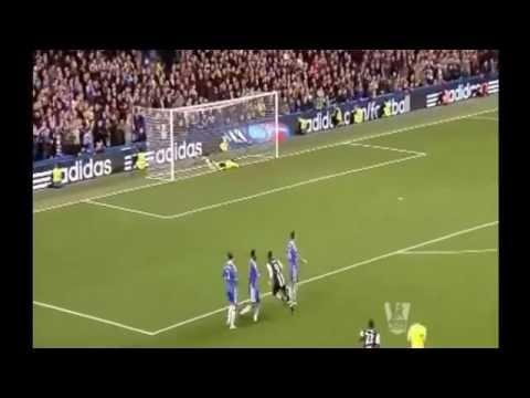 Amazing Goal! Papiss Cisse. 2012 premier league