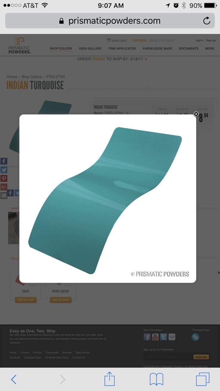 20 besten Designs On A Whim powder coat colors Bilder auf Pinterest ...