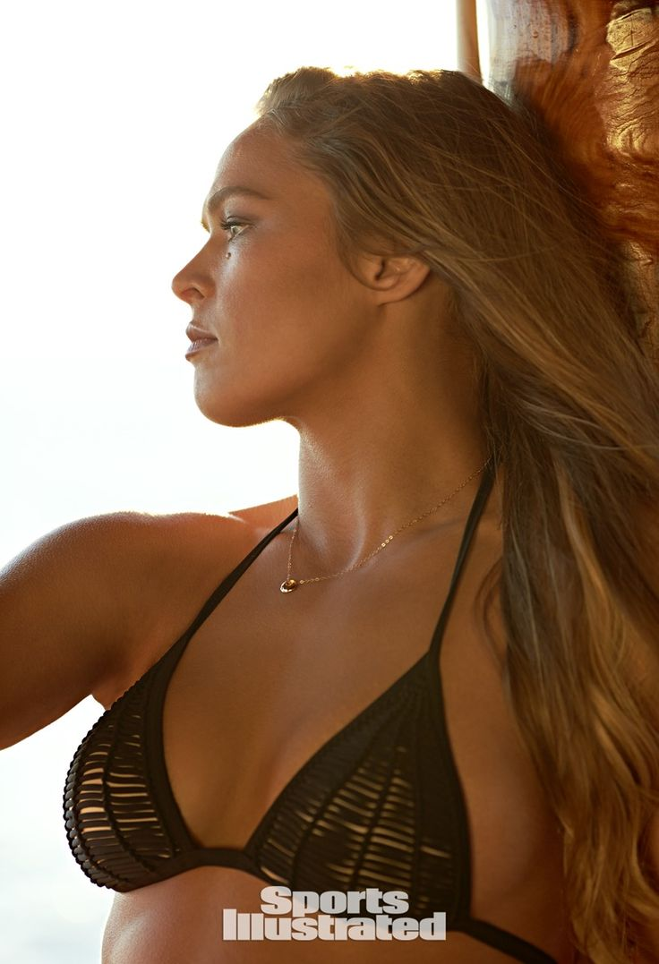 Ronda Rousey Swimsuit Photos, Sports Illustrated Swimsuit 2015