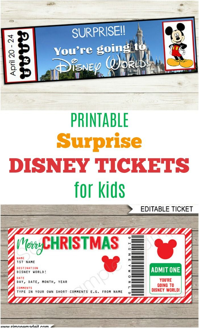 graphic regarding You Re Going to Disney World Printable named 4 Etsy Printables On your own Have to have for Your Following Disney holiday vacation