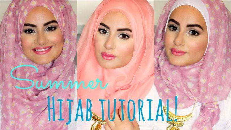 Summer Hijab Tutorial! | Hijab Hills