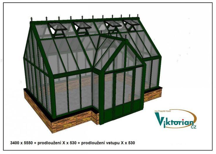Celoroční skleníky ve viktoriánském vzhledu | Viktorian.cz