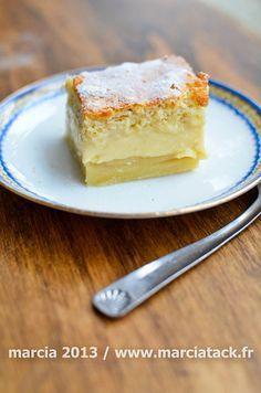 Le gâteau magique c'est une préparation unique qui donne après cuisson une couche de gâteau, une de crème et une de flan. A essayer d'urgence !