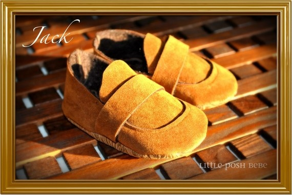 Suede Loafer for little boys