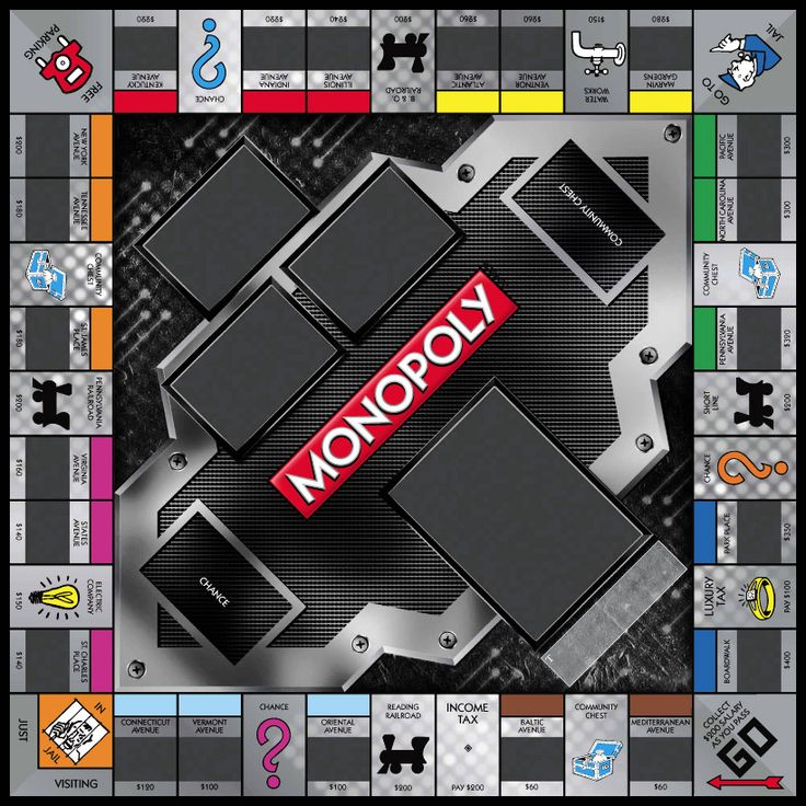 8 best monopoly templates images on pinterest monopoly for Custom monopoly board template
