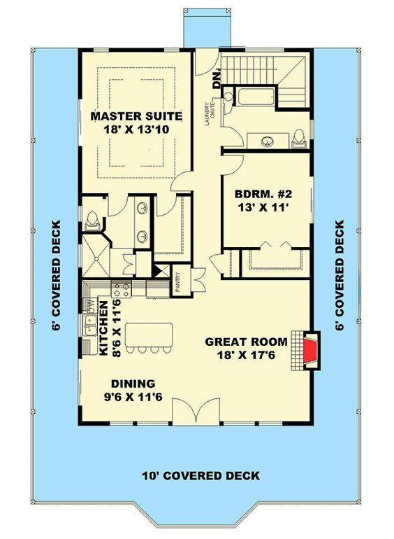 Plan 35512gh Northwest House Plan With Splendid Wrap Around Porch
