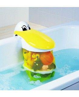Pelis Play Pouch - Pelikan, pojemnik na zabawki do kąpieli