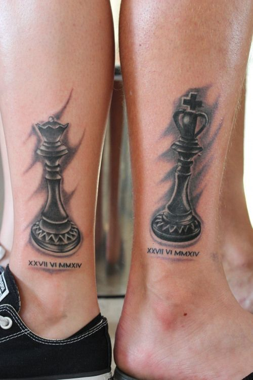 50+ AMAZING COUPLE TATTOOS ARE GETTING MORE AND MORE POPULAR – Page 55 of 58