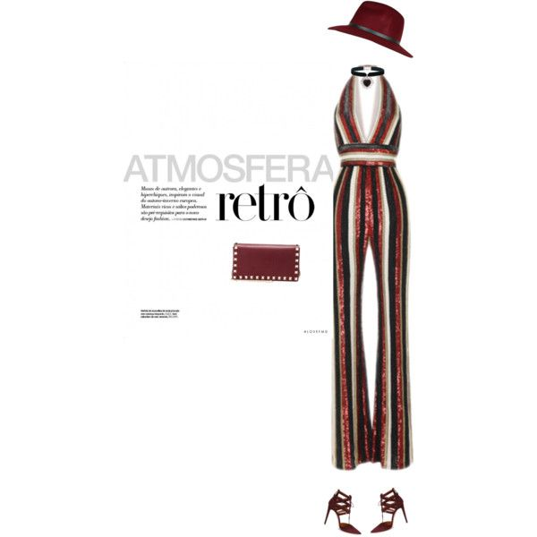 A fashion look from November 2015 by andreearaiciu featuring Aquazzura, Valentino and Rock 'N Rose