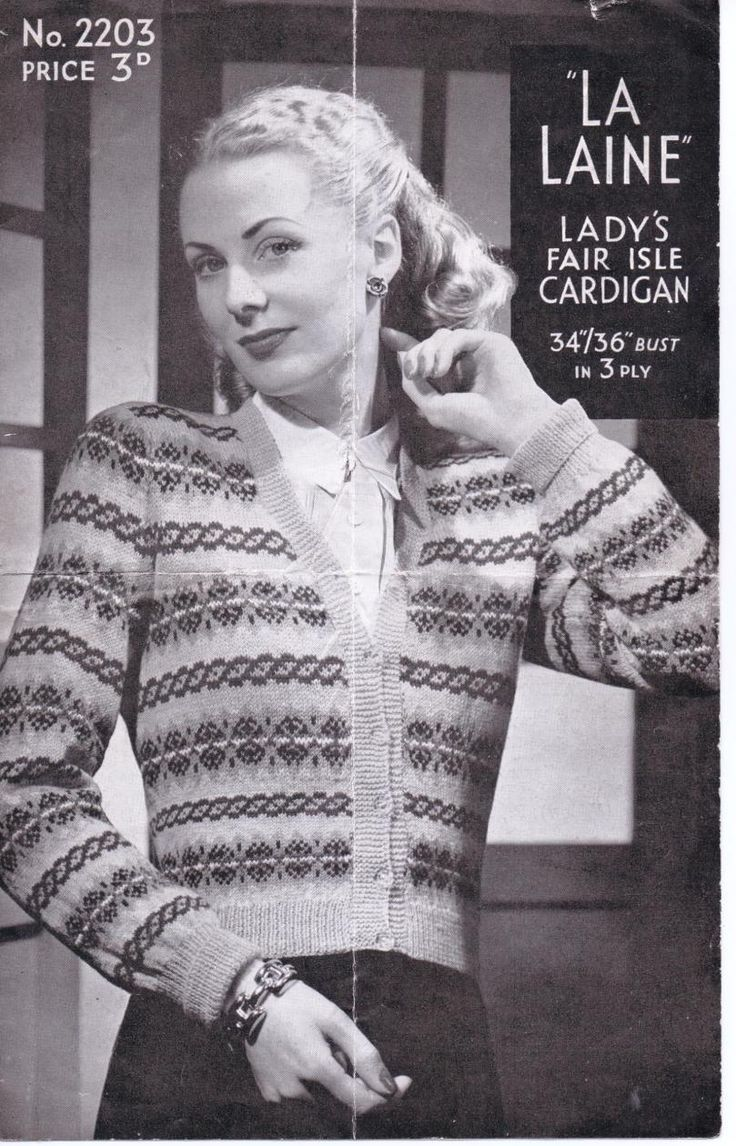 157 best my website the sunny stitcher images on pinterest free vintage knitting pattern fair isle 1940s ww2 bankloansurffo Images