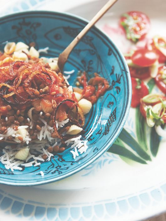 199 best kushari images on pinterest arabic food egypt kushari recipe sensational egyptian street food dish from sally butchers veggiestan forumfinder Choice Image