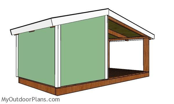 Dog House Plans With Porch Dog House Plans Porch House Plans