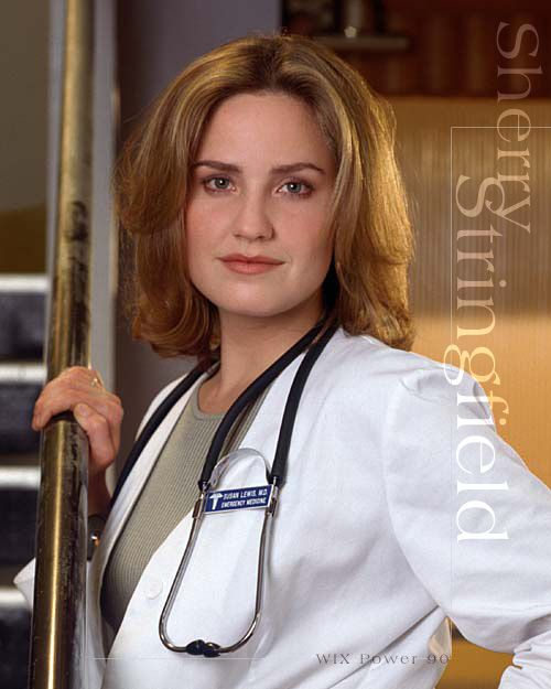 ER Dr Susan Lewis (Sherry Stringfield) : my favorite tv character of all time