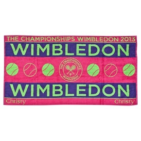 Wimbledon Ladies Championships Towel 2013 - Berry/Apple/Purple