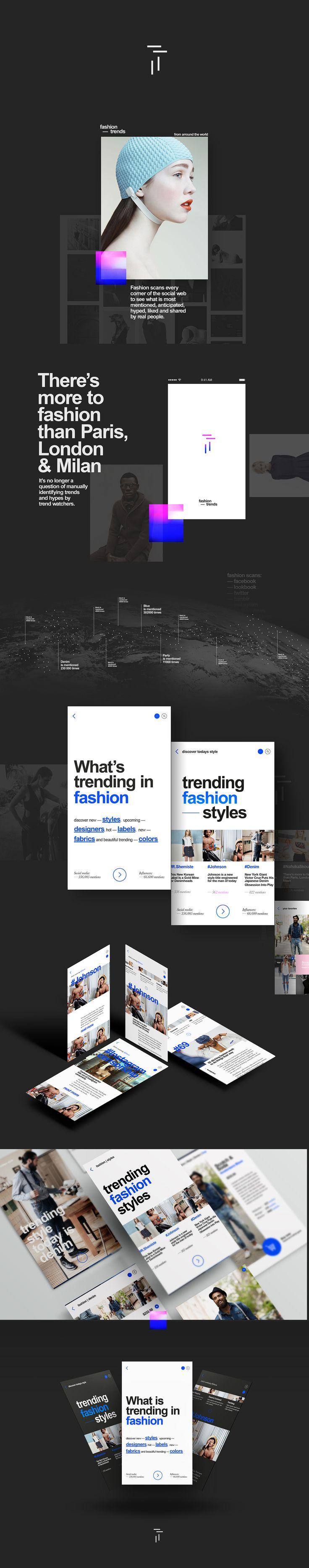 #fashion trends on App Design Served