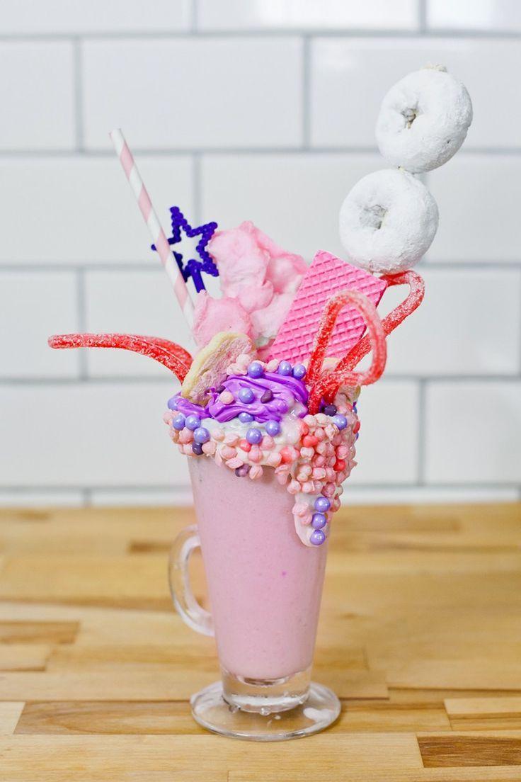 Epic Royal Crazy Shake Fit For A Princess Or Prince Crazy Shakes Cute Desserts Milkshake Recipes