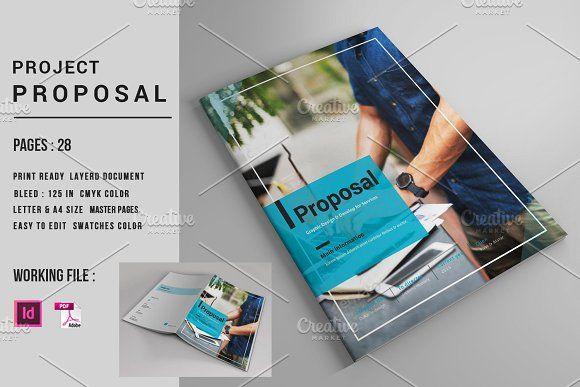 InDesign Business Proposal-V560  @creativework247